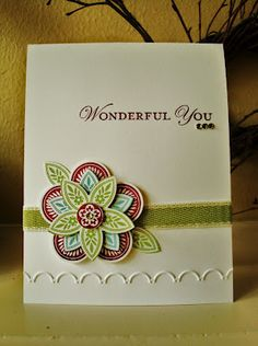 Cards Stamping Up products