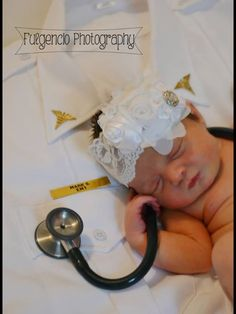 Fulgencio photography  Newborn for her dad who is a emt