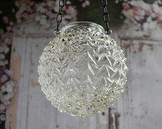Glass candle holder, wedding lantern