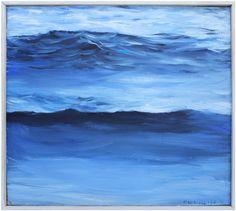 Open Water, John Bucklin, oil on canvas