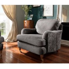 Gatsby Armchair in Grey | View All Living Room | George at ASDA