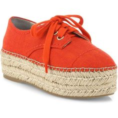 Alice + Olivia Rory Raffia Platform Espadrille Sneakers (3.505.530 IDR) ❤ liked on Polyvore featuring shoes, sneakers, apparel & accessories, platform lace up shoes, cushioned shoes, lacing sneakers, lace up sneakers and round cap