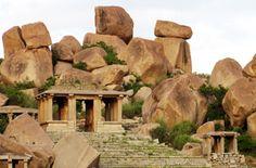 Hampi, India Hampi India, Karnataka, Dolmen, Indian Architecture, New Theme, India Travel, Incredible India, Tibet, Monuments