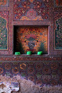 Design details : Masjid Wazir Khan (Mosque) - Lahore, Pakistan.