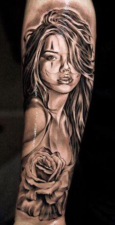 Tattoo Artist - Jun Cha - woman tattoo   www.worldtattoogallery.com