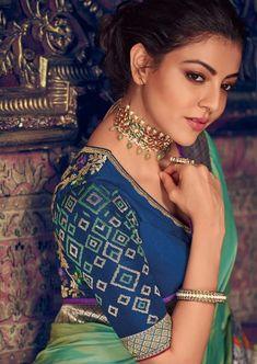 Indian Bollywood Actress, Bollywood Actress Hot Photos, Kajal Agarwal Saree, Ileana D'cruz Hot, Indian Bridal Sarees, Cotton Salwar Kameez, Saree Styles, India Beauty, Saree Wedding
