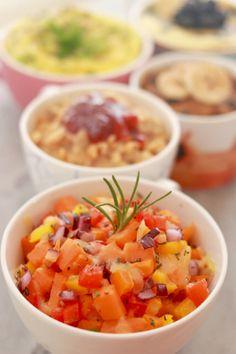 6. Sweet Potato Hash in a Mug #healthy #meals…