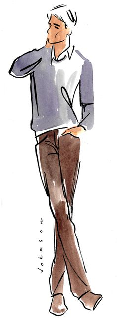 Julie Johnson Art: fashion illustration