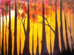 abstract nature - Painting by vaihbav yadav in My Scrapbook at touchtalent 76108 at touchtalent 76108
