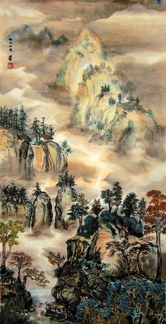 Chinese paintings by YIPSSS