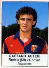 GAETANO AUTERI 1985-86 GENOA