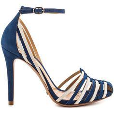 Schutz Women's Edmunda - Olympian Blue Pearl