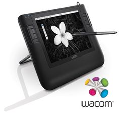Wacom drawing tablet. WANT.