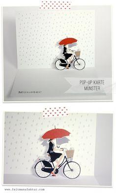 pop up card designs 'Münster'