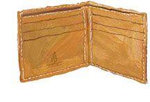Baseball-Glove Wallet > Owner's Manual No. 95   The J. Peterman Company