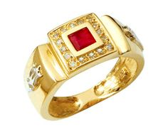Anel de formatura direito  em ouro 18k 750 com 17 diamantes de 1 ponto cada e 1 pedra semi preciosa central. Peso: 5 gramas