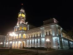 Brief history of the Administrative Palace from Arad - the building of the City Hall of Arad written by Puskel Péter. Marble Stairs, Light Highlights, Main Entrance, Main Street, Facade, House Styles, City, Building, Buildings