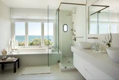 Stonewall Beach Residence - beach-style - Bathroom - Other Metro - Martha's Vineyard Interior Design