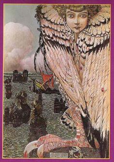 La sirène repue - 1905   Gustav-Adolf MOSSA