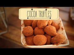 Learn how to make Cocoa Truffles, a tasty desert recipe by Priyanka. Chocolates on your mind! Well then you should definitely try the melt-in-your-mouth Cocoa Truffles! This recipe will make you fa...
