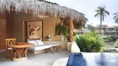 Viceroy Zihuatanejo: Flanked by jungle and beach, the 70-room Viceroy Zihuatanejo feels connected to nature.