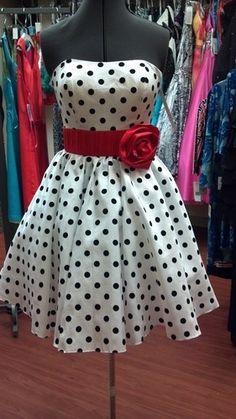 Cute polka dot dress!!