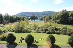 Brockhole's gardens, looking out to Windermere.