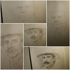 Вчерашний рисунок поэтапно.  #drawing #illustration #portrait #sketch #pencil #sketchbook #art #artwork #painting #eskiz #topcreator #портрет #рисунок #карандаш #набросок #эскиз