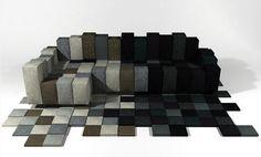 Canapé design DO-LO-REZ par Ron ARAD