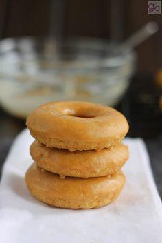 donuts de toffee al horno