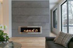 aluminium beading trim on fireplace - Google Search
