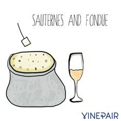 An Illustrated Guide To Pairing Wine And Cheese | VinePair