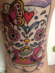 My Hello Kitty tattoo....