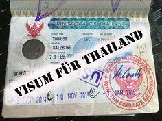 Ein Visum für Thailand bekommen. Alle Informationen der verschiedenen Visum-Arten... Was brauche ich?...Wo muss ich hin?...Visum verlängern! Kosten des Visum uvm.