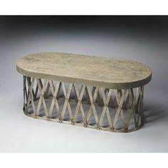 Amazon.com - Metalworks Dobson Coffee Table - Coffee Tables