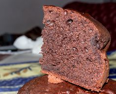 Plumcake, yogurt e cacao 3: prima fetta