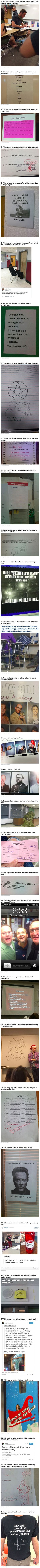 31 Times The Teachers And Schools Were Awesome