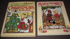 2 Mary Engelbreit Books Christmas Ideas Make Good Cheer Cross Stitch Make A Wish