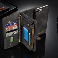 Caseme Zipper Wallet Magnetic Detachable Case For iPhone 7 Plus Sale - Banggood Mobile Apple Watch Accessories, Ipad Accessories, Wearable Device, Plus 8, Mobiles, Iphone 7 Plus, Magnets, Iphone Cases, Leather Products