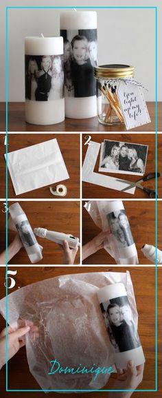 O que você acha de presentear a sua mãe com uma vela personalizada com uma foto sua? Demais né? Veja aqui como fazer!  #SouDominique #SomosTodasDominique #DominiqueStoryteller #Storytelling #Storyteller #Mãe #DiadasMães #DIY #FaçaVocêMesma #Presente