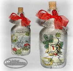 christmas-new year bottle