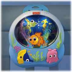 Disney Baby FINDING NEMO Soothing Sea Soother This has been one of the best, most exciting finds for me. Found it at Target on clearance for 20$