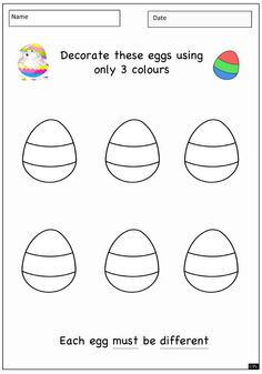 easter color by numbers subtraction for k Google Search