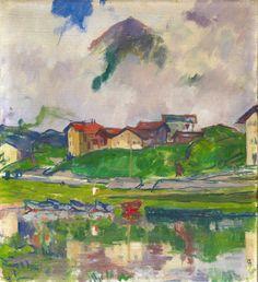 """Giovanni Giacometti, """"Maloja"""" von 1925"""