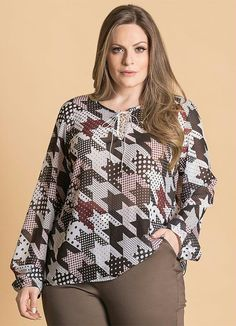 shopping-for-womens-fashion-plus-size-clothing - Womens Fashion 2 Big Girl Fashion, Curvy Fashion, Plus Size Fashion, Womens Fashion, Plus Size Blouses, Plus Size Dresses, Plus Size Outfits, Camisa Feminina Plus Size, Fat Girl Outfits