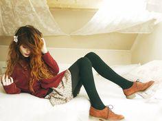 Hi shoes (by Nadia Esra) http://lookbook.nu/look/2998049-hi-shoes