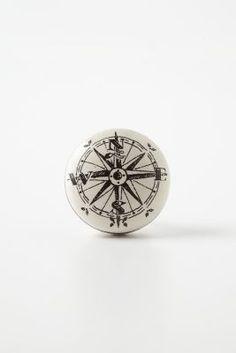 Compass Door Knob from Anthropologie - also love it!