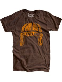 Garage cotton, Old Cleveland football tee