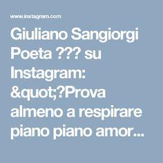 """Giuliano Sangiorgi Poeta 🎩🐇💚 su Instagram: """"🎶Prova almeno a respirare piano piano amore non c'è niente da temere, è solo freddo amore e tu lasciati scaldare, mentre il mondo cade non…"""""""