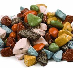 Amazon.com : Kimmie Choc-O-Rocks, Chocolate Shaped Rock Candy (6oz) : Grocery & Gourmet Food